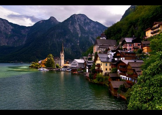 Travel Postcard - Fantastic Austria