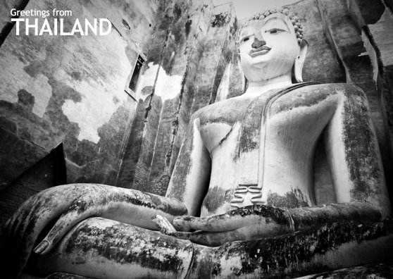 Travel Postcard - Thailand