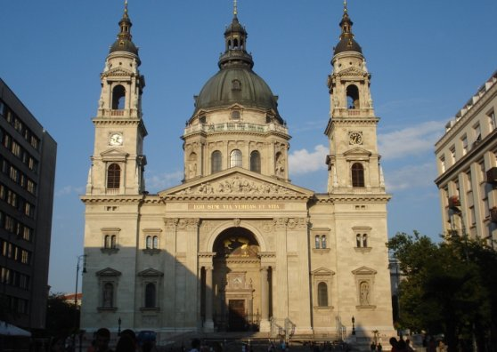 Travel Postcard - St. Stephen''''s Basilica, Hungary