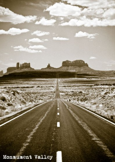 Travel Postcard - Monument Valley