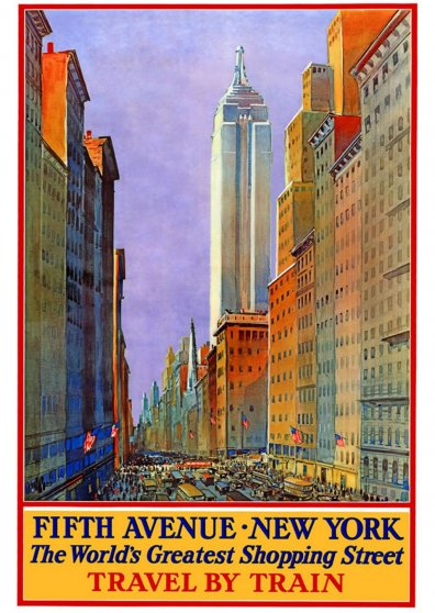 Travel Postcard - New York