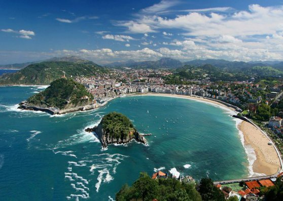 Travel Postcard - San Sebastian - Spain