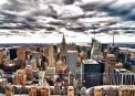 Travel Postcard - New York Skyline