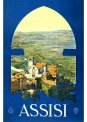 Travel Postcard - Assisi