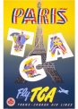 Travel Postcard - Paris