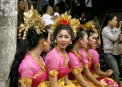 Travel Postcard - Balinese Dancer Girls