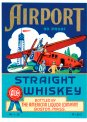 Travel Postcard - Airport Straight Whiskey