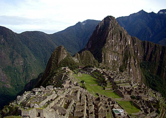 Travel Postcard - Peru Machu Picchu