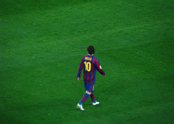 Travel Postcard - FC Barcelona - Messi