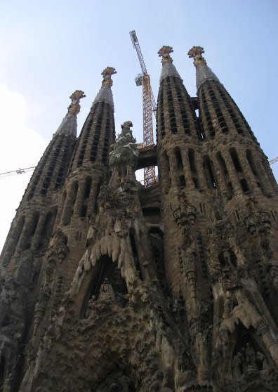 Travel Postcard - Sagrada Familia, Barcelona