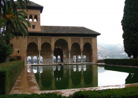 Travel Postcard - Alhambra