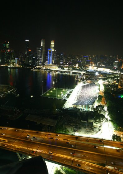 Travel Postcard - Singapore F1 - Nightrace