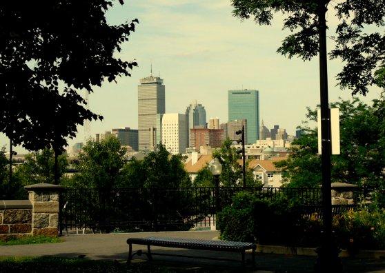Travel Postcard - Boston