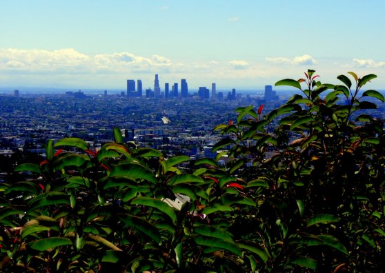 Travel Postcard - LA on a Clear Day