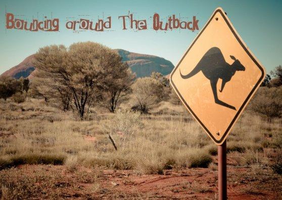Travel Postcard - Kangaroo