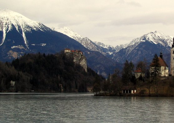 Travel Postcard - Bled, Slovenia