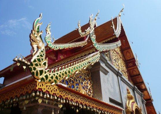 Travel Postcard - Wat Phrathat Doi Suthep, Chiangmai
