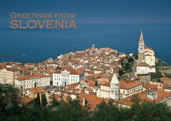 Travel Postcard - Slovenia