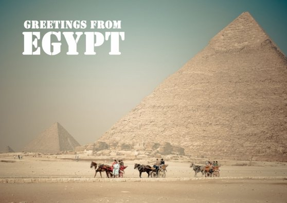 Travel Postcard - Egypt