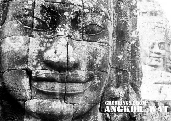 Travel Postcard - Angkor Wat