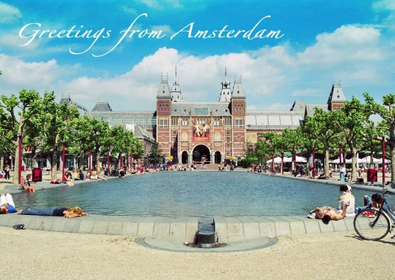 Travel Postcard - Magic Rijksmuseum