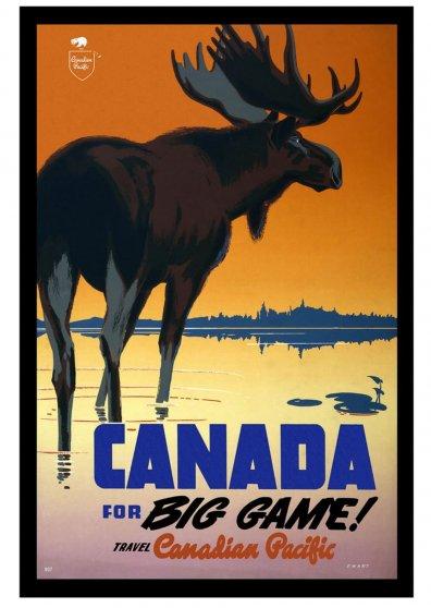Travel Postcard - Canada