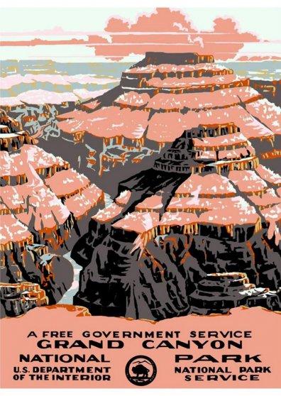 Travel Postcard - Grand Canyon