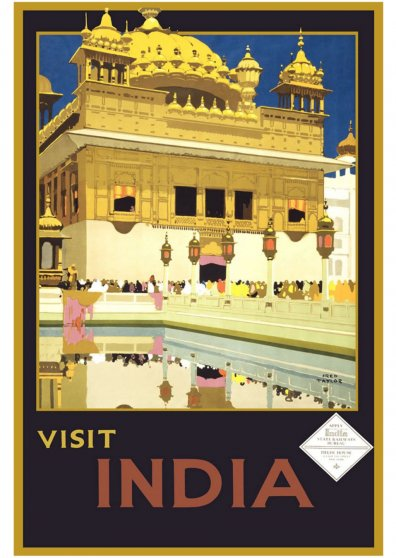 Travel Postcard - India