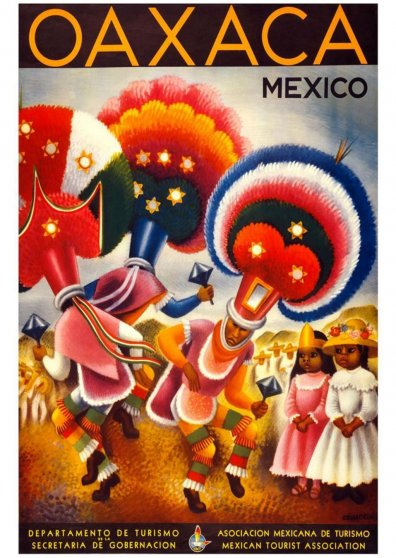 Travel Postcard - Oaxaca