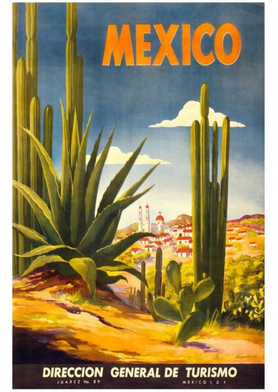 Travel Postcard - Mexico