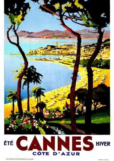 Travel Postcard - Cannes