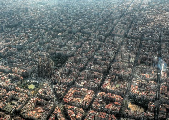 Travel Postcard - Barcelona