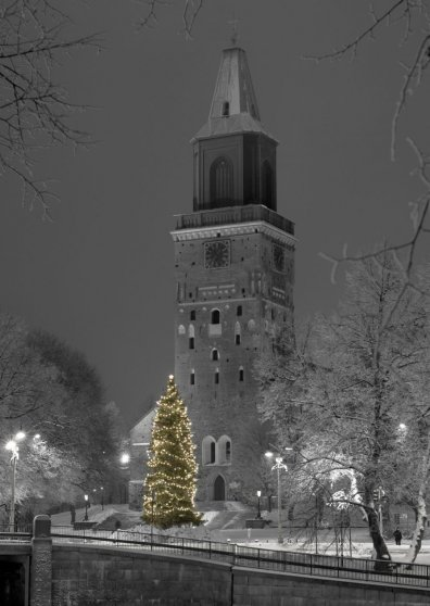 Travel Postcard - Christmas City - Turku, Finland