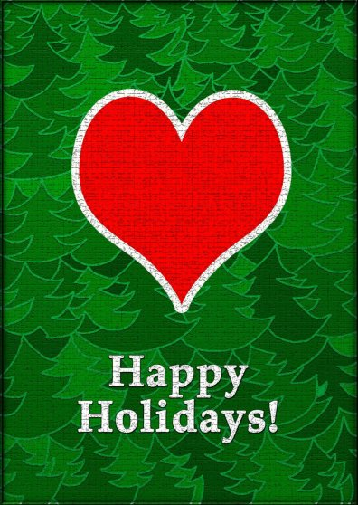 Travel Postcard - Happy Holidays 2