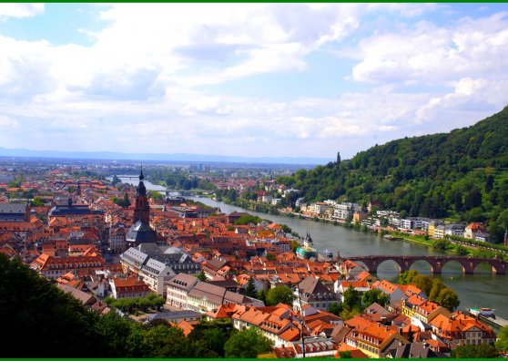 Travel Postcard - Heidelberg, Germany