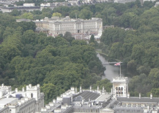 Travel Postcard - Londres - Palacio de Buckingham
