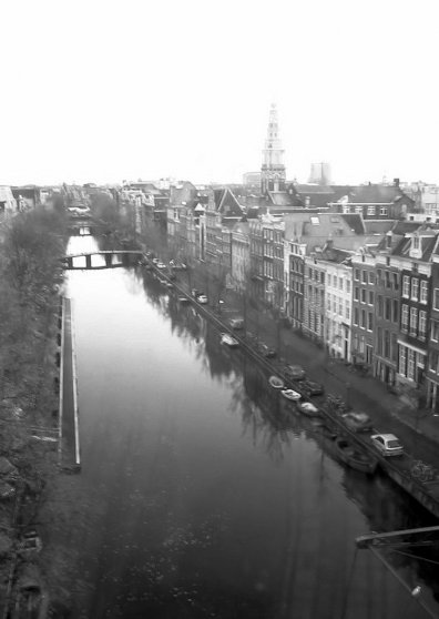 Travel Postcard - Amsterdam city view