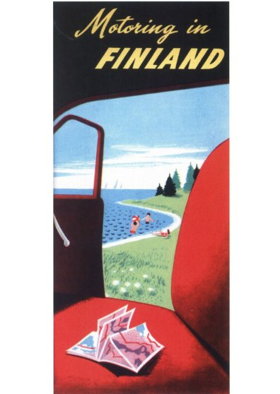 Travel Postcard - Motoring in Finland