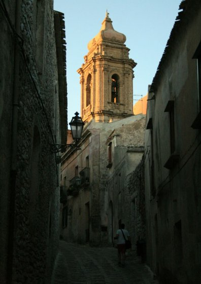 Travel Postcard - Erice