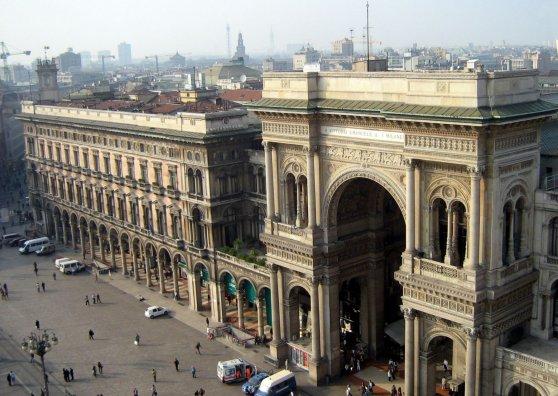 Travel Postcard - Galleria Vittorio Emanuele II