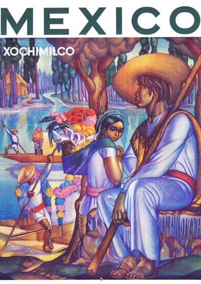 Travel Postcard - Mexico