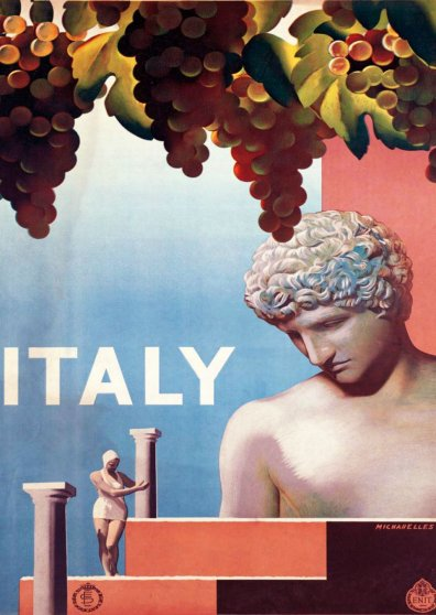 Travel Postcard - Italy