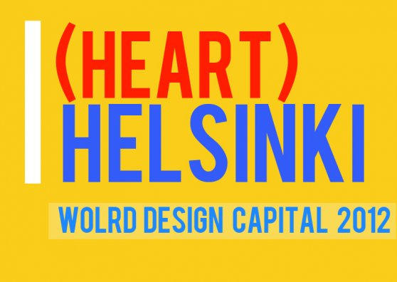 Travel Postcard - I <3 Helsinki (Design Capital 2012)