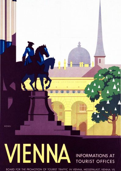 Travel Postcard - Vienna - Austria