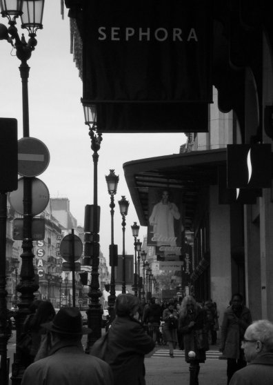 Travel Postcard - Black&White Paris