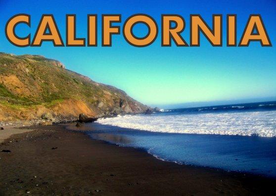 Travel Postcard - Muir Beach, California