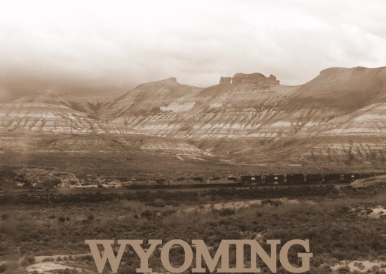 Travel Postcard - Wyoming