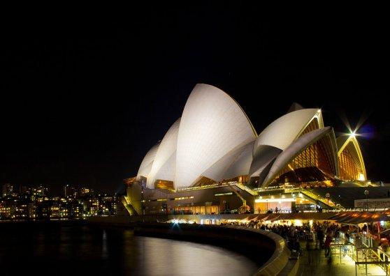 Travel Postcard - A night at the Opera