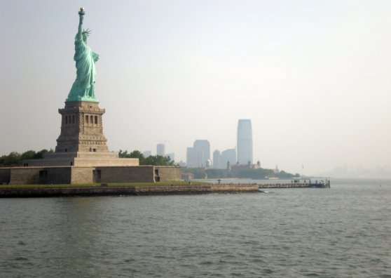 Travel Postcard - Statue of Liberty