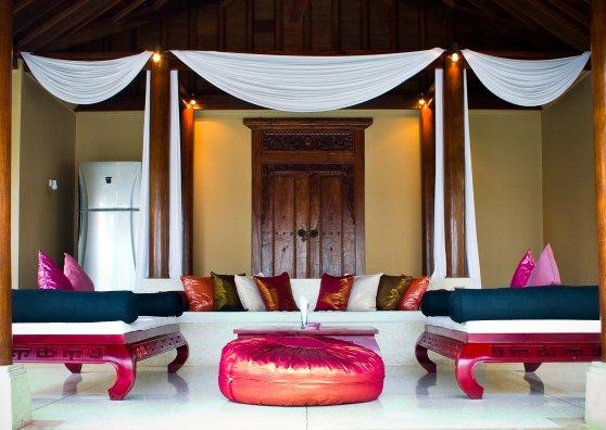 Travel Postcard - Tropical Villa